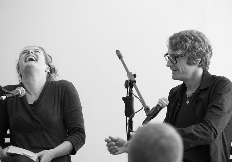 Emma van der Vliet and Patrick DeWitt