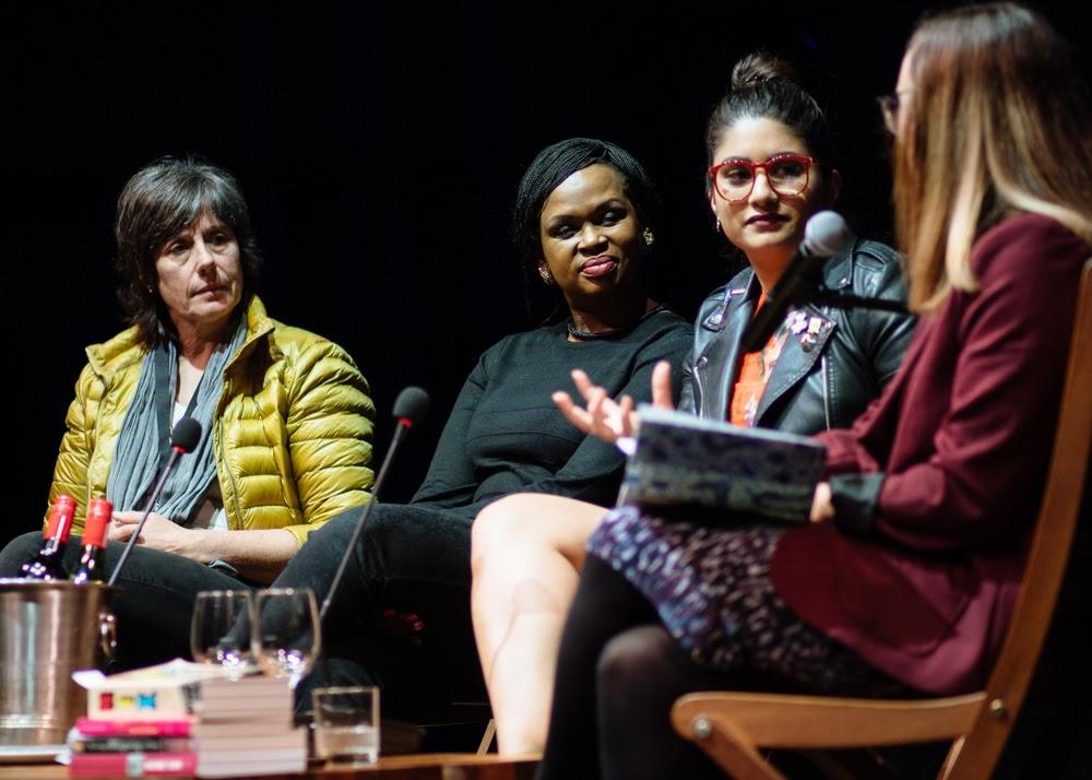 Marianne Thamm, Thandeka Gqubule, Sacaachi Koul and Erin Bates credit Retha Ferguson