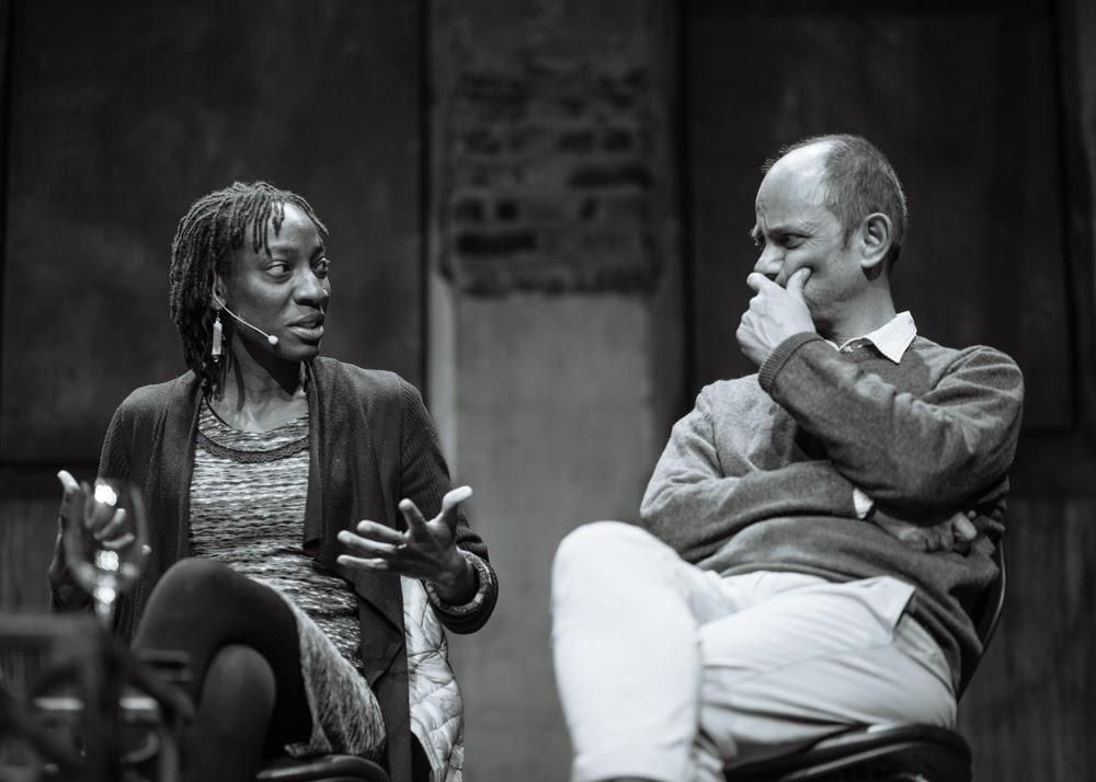Yewande Omotoso and Damon Galgut credit Retha Ferguson